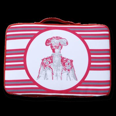 tienda Belinda Carasucia diseño taurino comercio electrónico almohadillas almohadilla torero roja TR022