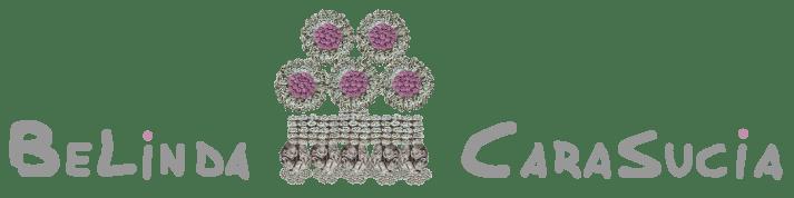 logotipo Belinda Carasucia estirado diseño taurino
